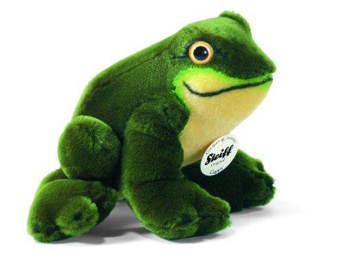 Steiff 56345 - Cappy Frosch, grün, 16 cm