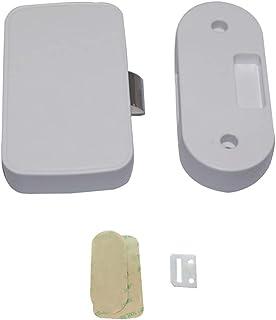 TOYANDONA مبرد خزانة قفل ذكي درج لاسلكي قفل أمان بدون مفتاح غير مرئي للأطفال قفل خزانة لملحقات الأثاث المكتبية المنزلية
