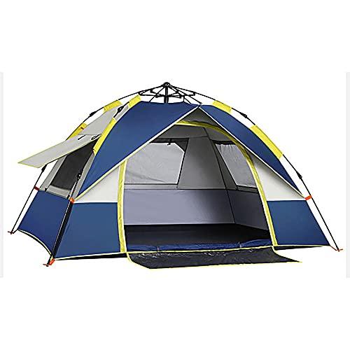 FLZXSQC Tienda De Apertura Rápida Completamente Automática, Carpa Impermeable Y Ventilada para 2-3 Personas, Adecuada para Festivales De Camping Familiar Y Camping,Dark Blue