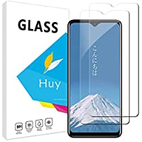 Huy Blackview A80 Pro 用のガラスフイルム a80 pro 用のフイルム【2枚セッ】 日本旭硝子製 強化ガラス 液晶 保護フィルム 貼り付け簡単 硬度9H 防指紋 透過率98.5%