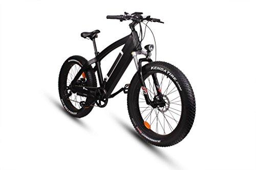 Bicicleta eléctrica S-Pedelec con motor de 500 W.