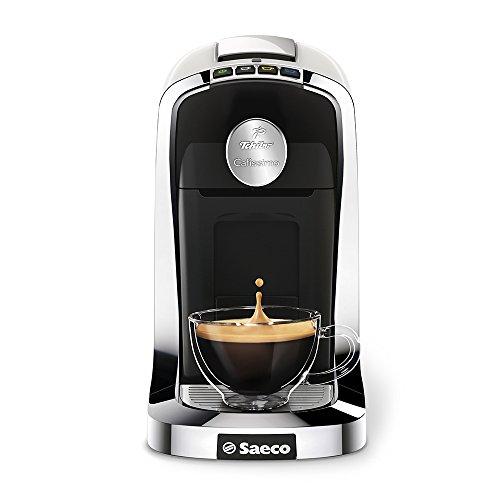Tchibo Saeco Cafissimo Tuttocaffé Kapselmaschine (für Kaffee, Espresso, Caffé Crema und Tee) weiß