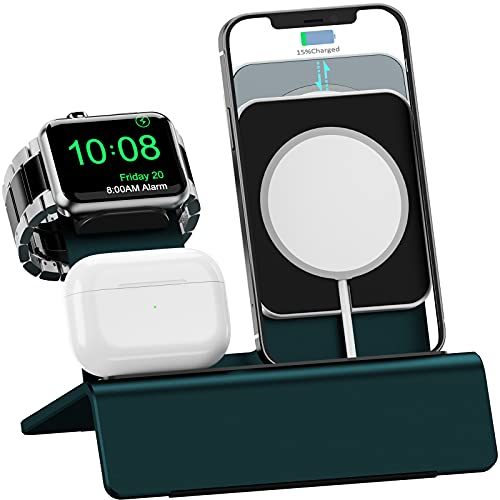 OLEBR 3 in 1 Charging Stand Compatible w/Magsafe Stand iWatch Only $5.20 (Retail $21.99)