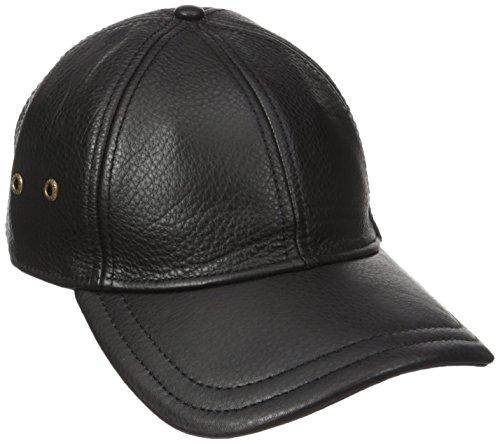 Stetson Men's Oily Timber Baseball Cap, Black, One Size