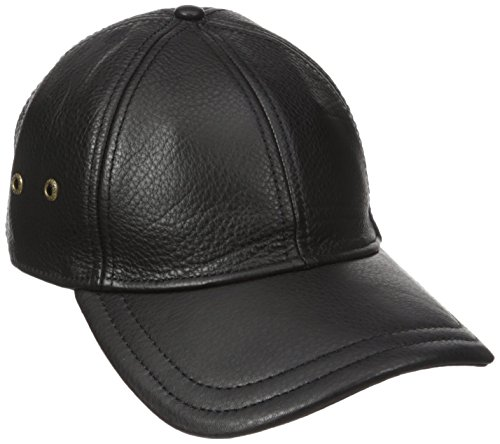 Stetson Men's Oily Timber Baseball Cap, Black, One Size
