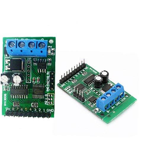 xiaocheng Relaismodul 8-Kanal-Relais-Steuermodul Brett MODBUS RS485 TTL RTU DC 6-24V-Relay-Switch Controller Board Industrie DIY Arbeit Kit