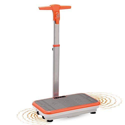 Mediashop VibroShaper mit Griff – Fitness Vibrationsplatte bringt den Körper in Form – Vibrationstrainer für unterschiedliche Muskelgruppen   Das Original aus dem TV