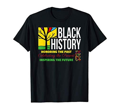 Cita inspiradora de la historia de los negros Camiseta