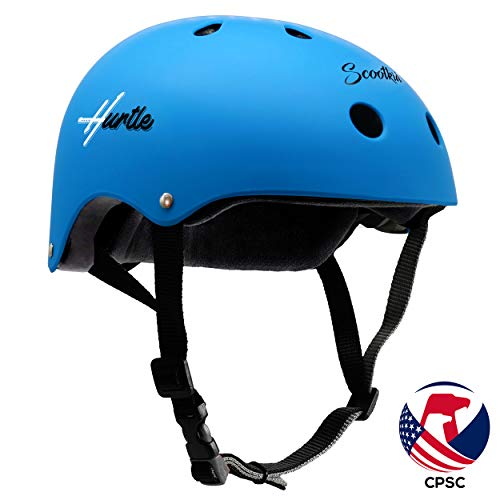 Lowest Price! Hurtle Sports Safety Bicycle Kids Helmet - Toddler & Child Bike Helmet w/Adjust Knob, ...