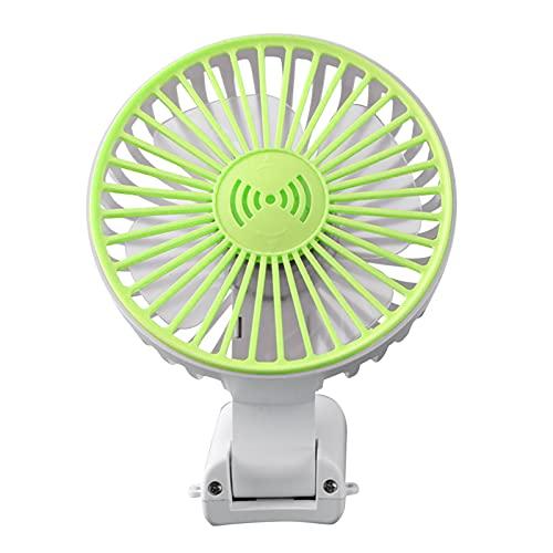 Zwbfu Ventilador de mano, mini ventilador portátil de bolsillo, plegable, recargable por USB, 1800 mAh, velocidad con alta capacidad, ajustable