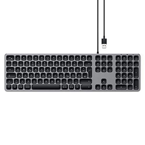 Satechi USB-Keyboard mit numerischem Keypad - Kompatibel mit iMac Pro, MacBook Air, iPad Pro & mehr