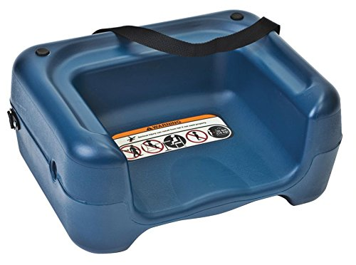 Lowest Prices! Koala Kare KB855-04S Restaurant Booster Seat with Strap, Blue, 30 Height, 16 Width,...