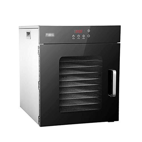 Buy Bargain HUXIQI Premium Countertop Food Dehydrator - 12 Drying Shelves - Digital Thermostat - Pre...