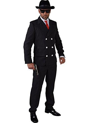 Adult Gangster Man Costume - Large Fancy Dress