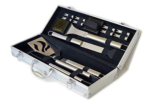 Culina 20511 BBQ Set 14 pcs Stow Carry Case