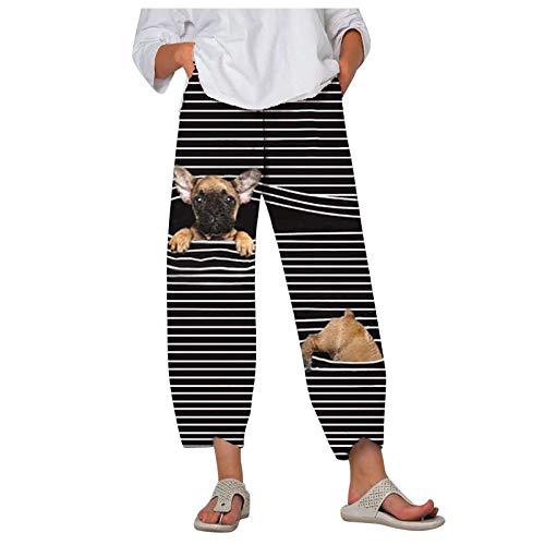 Jogginghose Damen Hose Schwarz Arbeitshose Slim Fit Thermo Jeans Strickhose Schlafanzughose Schnittschutzhose