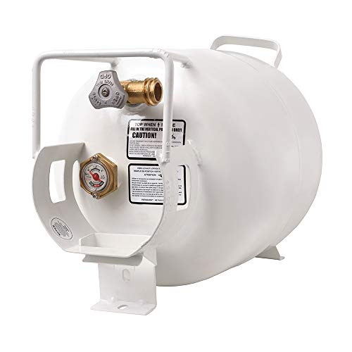 Big Save! Flame King YSN201HZL Steel Propane Tank Cylinder for, 20 LB Horizontal