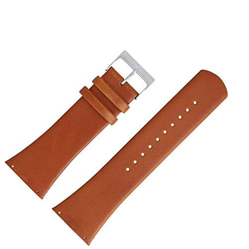 Skagen Reloj de Pulsera 30mm Piel marrón–Reloj Banda SKW6085