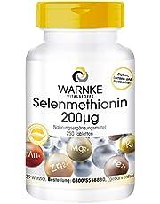 Selen-Tabletten - 200mcg - Selenmethionin - vegan - 250 Tabletten