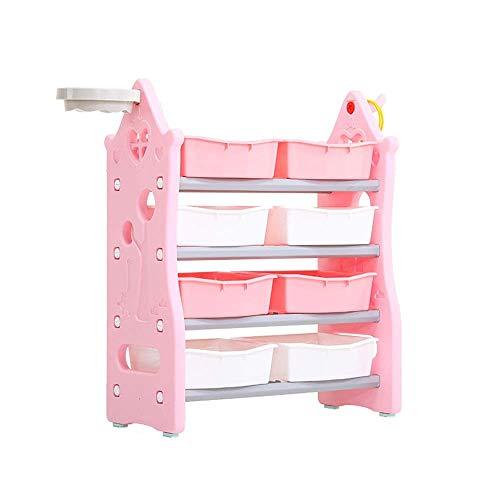 Shoe rack Niños duraderos que terminan el estante de almacenamiento - para organizar el almacenamiento de juguetes Juguetes para bebés Juguetes para niños Juguetes para perros Ropa para bebés Libros p