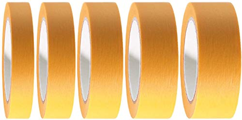 24 x Goldband Fineline Tape Klebeband 50 mm x 50 m | Malerband Soft Tape Kartonpreis 0,070EUR/m