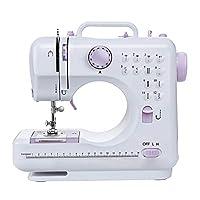 signstek - macchina da cucire con 12 programmi di cucito, regolabile, velocità del piedino intercambiabile per principianti e bambini