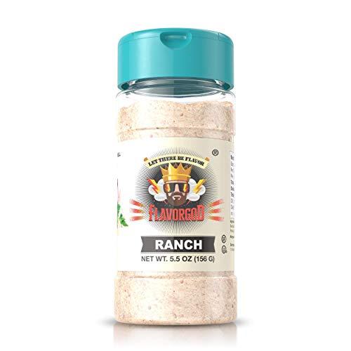 5oz. Flavor God Seasonings (Ranch Seasoning, 1 Bottle)