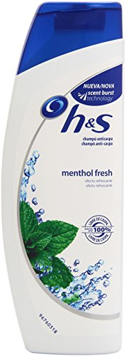 H & S Menthol Fresh Champú Anticaspa - 270 ml