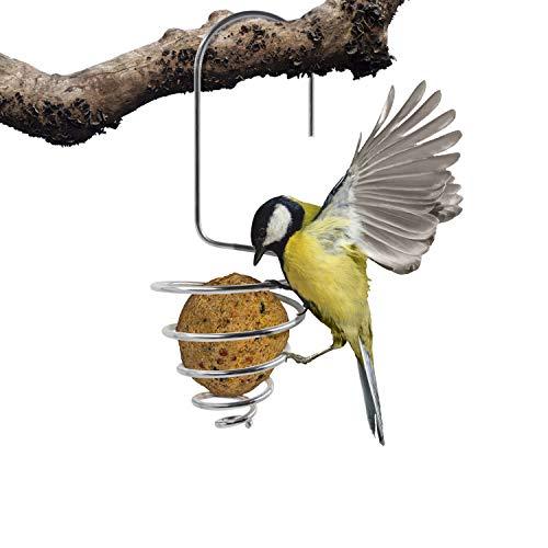 Mardili Bird Feeder Fat Ball-Bird Feeders Stations and Holder, Set of 4