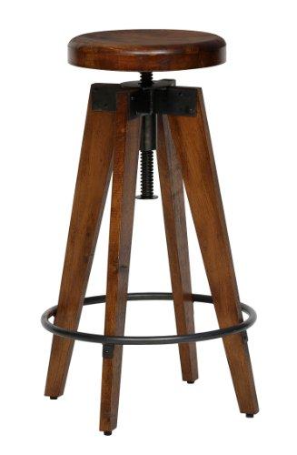 Journal standard furniture CHINON HIGH STOOL WOOD スツール 本革 レザー 無垢材 ブラウン シノン ハイスツール ウッド journal standard
