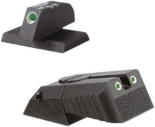 Kensight DAS 1911 Defense Adjustable Rear Sight Set Tritium Insert - Night Sights Serrated Blade - 0.200