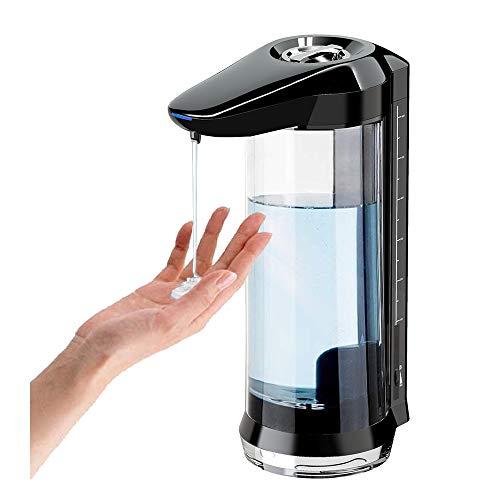 A5X Dispensador de jabón Automático Alcholsin 650ml Dispensador de jabón líquido eléctrico sin Contacto para Cocina Baño Gel Desinfectante de Manos