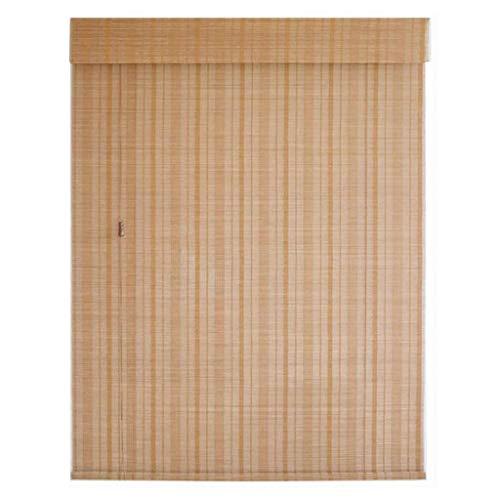 zhicheng shop Cortina de caña Natural, persianas enrollables de bambú de Cocina, Parasol de persiana elevable, Cortina de Ventana Tejida a Mano/Retro/Impermeable, Personalizable