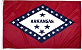 FlagSource Arkansas Nylon State Flag, Made in the USA, 3x5
