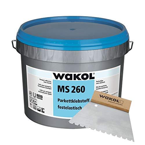 Wakol MS 260 Parkettkleber, 18 kg inkl. Wakol Zahnspachtel TKB B11