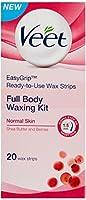 Veet Full Body Waxing Kit - Normal Skin (Pack of 3) by Veet