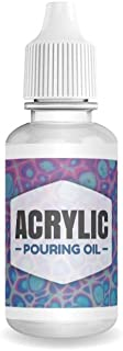 Essential Values Acrylic Pouring Oil - 100% Silicone - Ideal Silicone Lubricant for Art Applications – Excellent Lubricant...