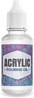 Aceite para verter acrílico, 100% lubricante de silicona pa
