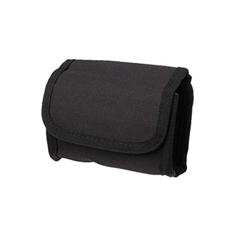 WT-DDJJK Bolsillo en la Cintura, Tactical 10 Round Shotgun Reload Shotshell Holder Pouch 12 Gauge 20G Cartucho