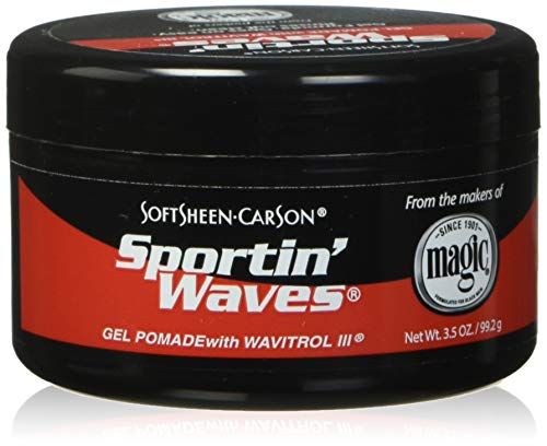 Sportin Waves Soft Shine Gel-Pomade/Wavitrol-Glas, 1x103 ml