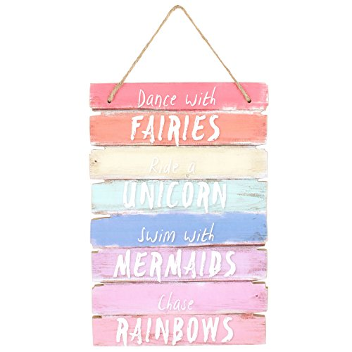 Giftbrit Dance with Fairies Plaque Sign