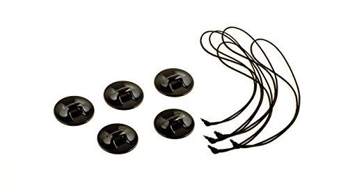 GoPro Kamera-Halterungsband-Klebeanker (5er-Set, geeignet für GoPro Kameras)