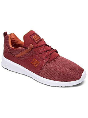 DC Shoes Heathrow M Shoe, Sneakers Basse Uomo, Rosso (Rouge - Maroon), 48.5 EU