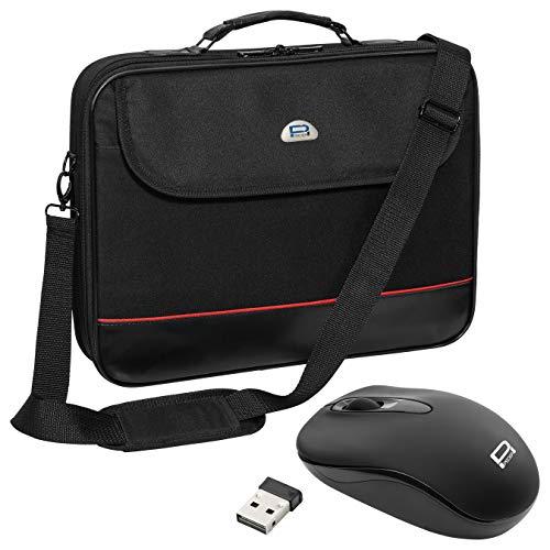 Pedea Laptoptasche Trendline Umhängetasche Messenger Bag 13,3/15,6/17,3/18,4/20,1 Zoll (15,6 Zoll, Tasche mit Maus)