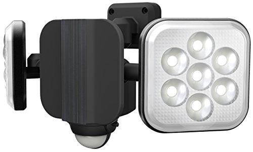 『ムサシ RITEX フリーアーム式LEDセンサーライト(8W×2灯) 「コンセント式」 防雨型 LED-AC2016』の2枚目の画像