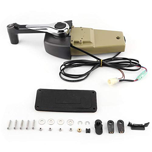 Caja de control remoto individual fuera de borda Caja de control de bitácora individual para automóvil de alta calidad