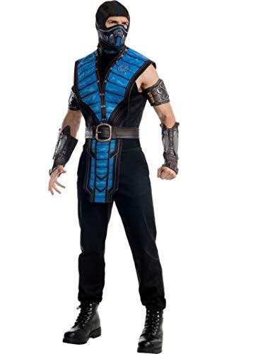 Rubie's Men's Mortal Kombat X Sub-Zero Costume, Multi, X-Large