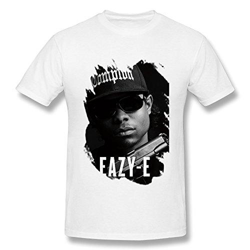 Elma Ellen Straight Outta Compton NWA Eazy E T Shirt For Men Black XXXX-L