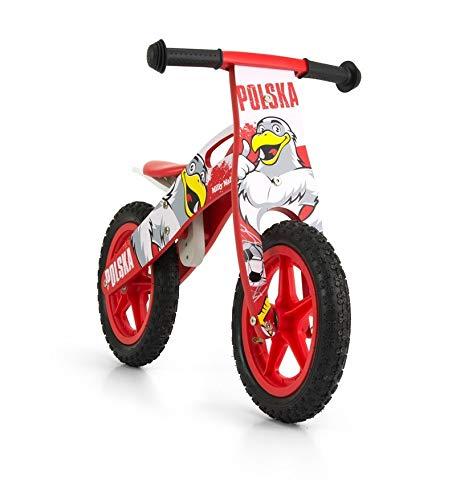 Rowerek biegowy jeździk Milly Mally King Poland