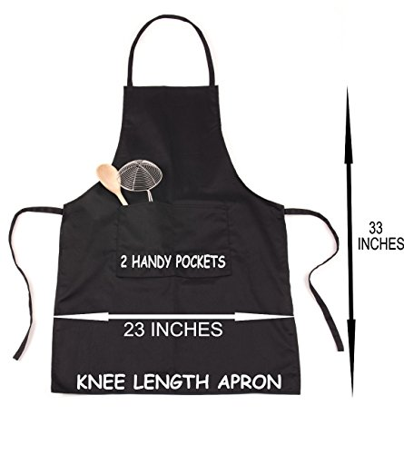 Print4U Apron Personalised Welcome To Mike's BBQ & Grill Black